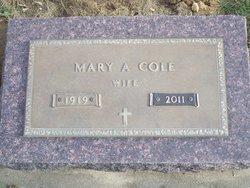 Mary Alice <i>Larsen</i> Cole