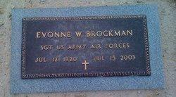 Evonne <i>Westerman</i> Brockman
