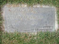 Magdalena <i>Wuthrich</i> Hirschi