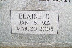 Elaine Delores <i>Blank</i> Laurent