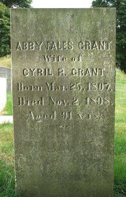 Abby Fales <i>Mason</i> Grant
