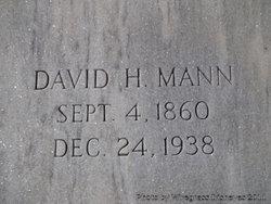 David Henry Mann, Sr