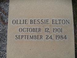Ollie Bessie Elton