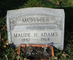 Maude H <i>Goodman</i> Adams
