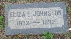 Eliza E. Johnston