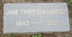 Jane <i>Thompson</i> Harmon