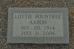 Lottie Vickery <i>Rountree</i> Aaron