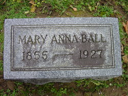 Mary Anna <i>Johnson</i> Ball