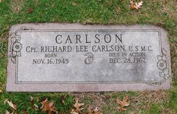 Corp Richard Lee Carlson