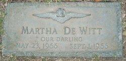 Martha De Witt