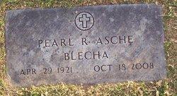 Pearl R <i>Blecha</i> Asche