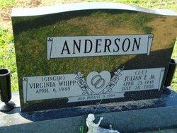 Virginia Ginger <i>Whipp</i> Anderson
