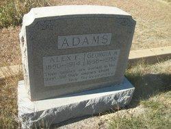 Alexander Franklin Alex Adams