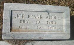 Joe Frank Albro