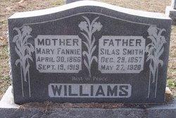 Mary Frances Fanny <i>Anglin</i> Williams