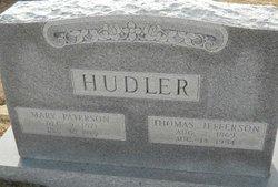 Mary Paterson Aunt Sissy <i>Smith</i> Hudler