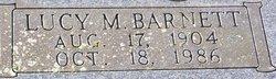 Lucy M. <i>Barnett</i> Gouge
