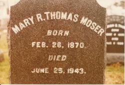 Mary Rebecca <i>Thomas</i> Moser