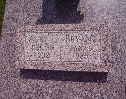 Ruby J <i>Daniel</i> Bryant