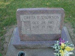 Greta E Thorson