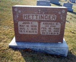 Amanda G. <i>Barr</i> Hettinger