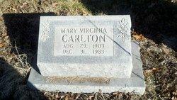 Mary Virginia Carlton