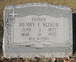 Henry F Kosub