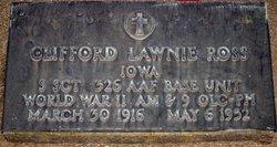 Clifford Lawnie Ross