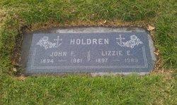 Mary Elizabeth <i>Ellis</i> Holdren