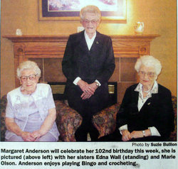 Margaret Philomena <i>LeBrun</i> Anderson