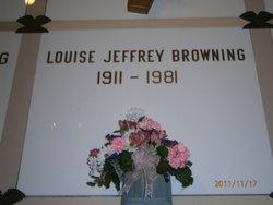 Louise <i>Jeffrey</i> Browning
