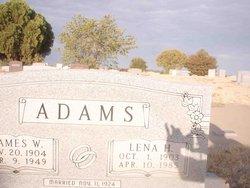 Lena Henrietta <i>Polk</i> Adams