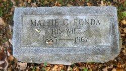 Mattie <i>Fonda</i> Baldwin
