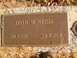 Edith M. <i>Bergman</i> Wessel