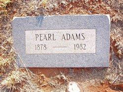 Artie Pearl <i>McCleskey</i> Adams