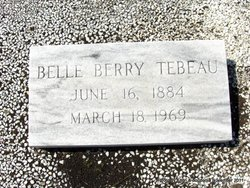 Belle <i>Berry</i> Tebeau