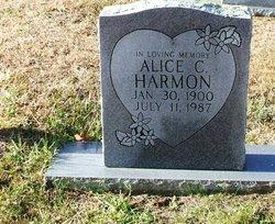 Alice <i>Calhoun</i> Harmon