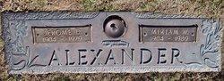 Jerome D Alexander