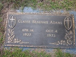 Claire Beauvais Adams