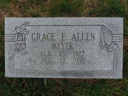 Grace F <i>Meyer</i> Allen