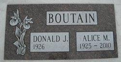 Alice M <i>Starken</i> Boutain