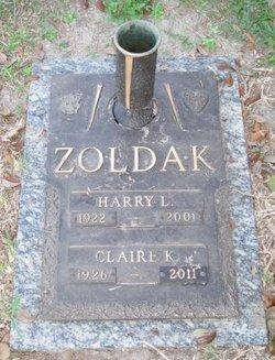 Harry L Zoldak