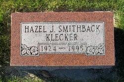 Hazel J <i>Smithback</i> Klecker
