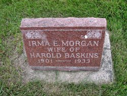 Irma E <i>Morgan</i> Baskins