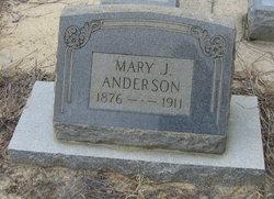 Mary Jane <i>Zeigler</i> Anderson