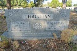 Byron Edward Pop Butch Christian