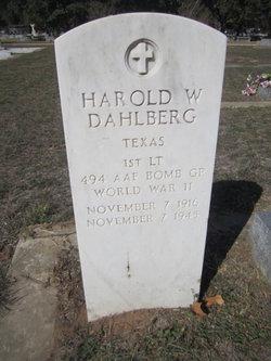Harold W. Dahlberg