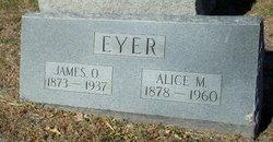 Alice M. <i>Henry</i> Eyer
