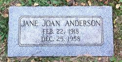 Joan Jane <i>Driscoll</i> Anderson