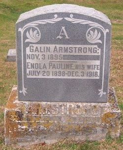 Enola Pauline <i>Brindley</i> Armstrong